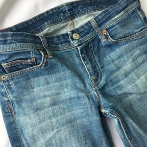 7 For All Mankind Flynt Boot Cut Denim Jeans 30X32
